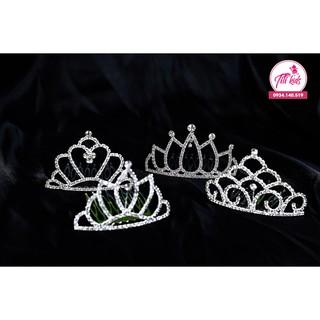 Vương miện công chúa sang trọng (Hình thật) – Váy đầm công chúa bé gái thiết kế cao cấp