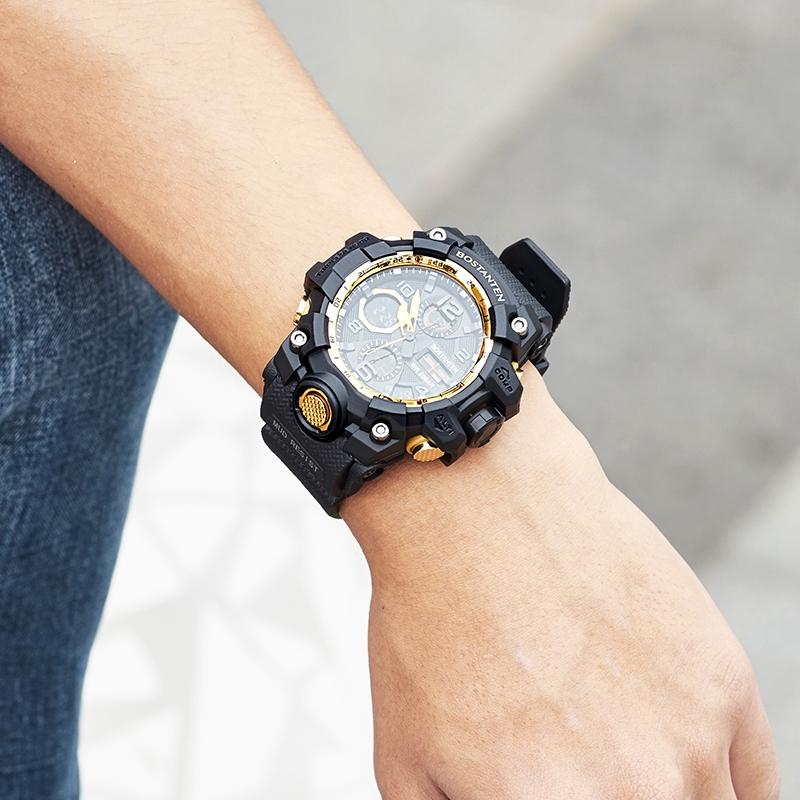 Đồng hồ kỹ thuật số BOSTANTEN 2052 không thấm nước