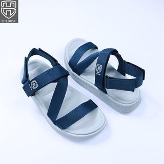 Giày Sandal Unisex TheHusk Quai Xanh Navy Đế Trắng ngâm - TH1 thumbnail