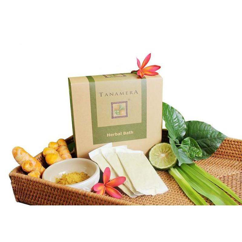 14 gói/hộp thảo mộc xông tắm sau sinh Tanamera nhập khẩu Malaysia
