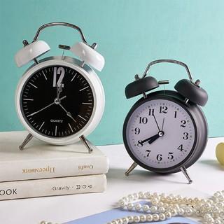 Đồng hồ báo thức 2 chuông phong cách cổ điển dành cho bé - Đồng hồ để bàn mini cute decor đẹp & quà tặng bạn thân thumbnail