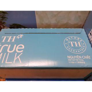 sữa TH không đường hộp 1 lít( GH khu vực HCM)