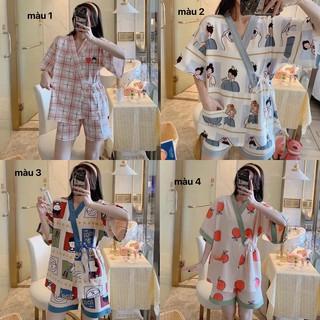 Bộ quần áo ngủ hoạt hình Nhật Bản cute hết sức thumbnail