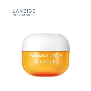[HB Gift] Kem dưỡng trắng da làm mờ đốm nâu LANEIGE Radian-C Cream 10ML thumbnail