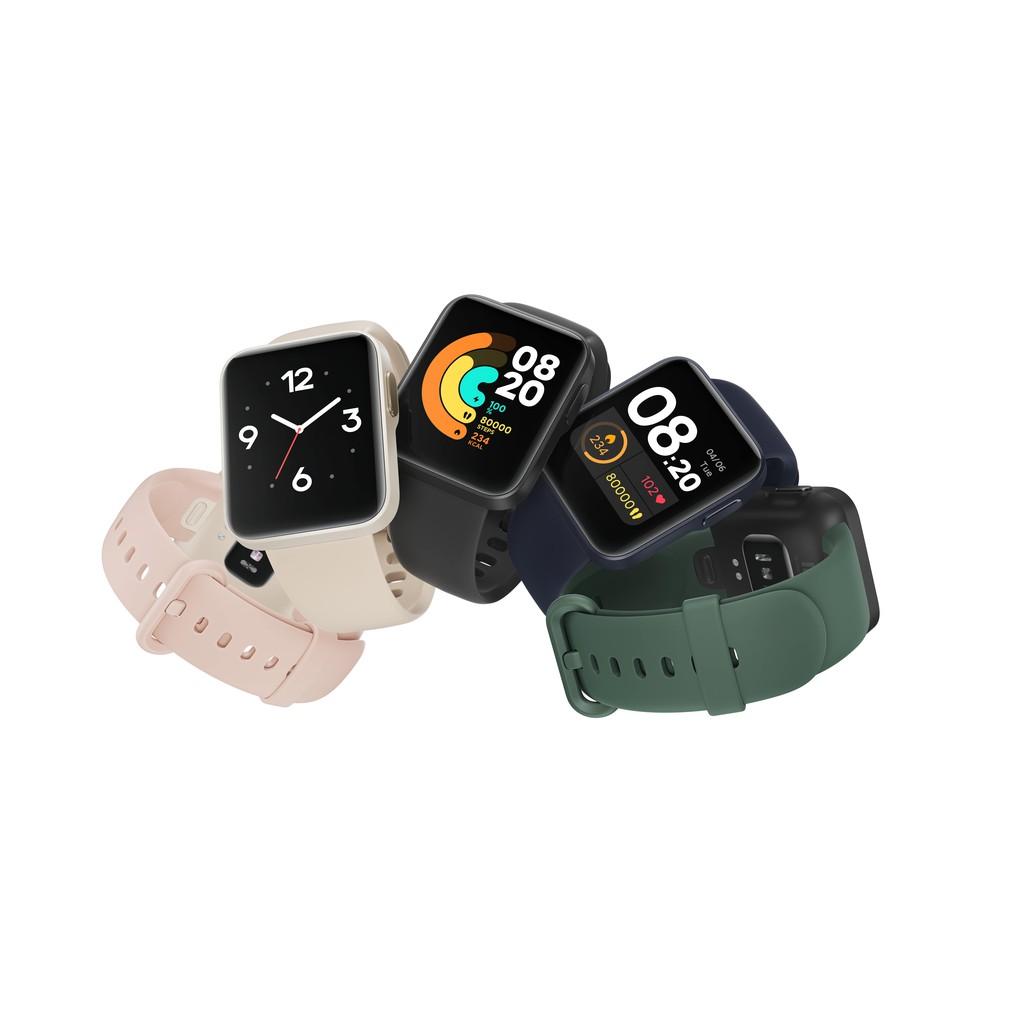 """[Mã 267ELSALE hoàn 7% xu đơn 300K] Đồng hồ thông minh Xiaomi Mi Watch Lite - GPS/1.4"""" LCD Touch/Bluetooth 5.1/5ATM"""