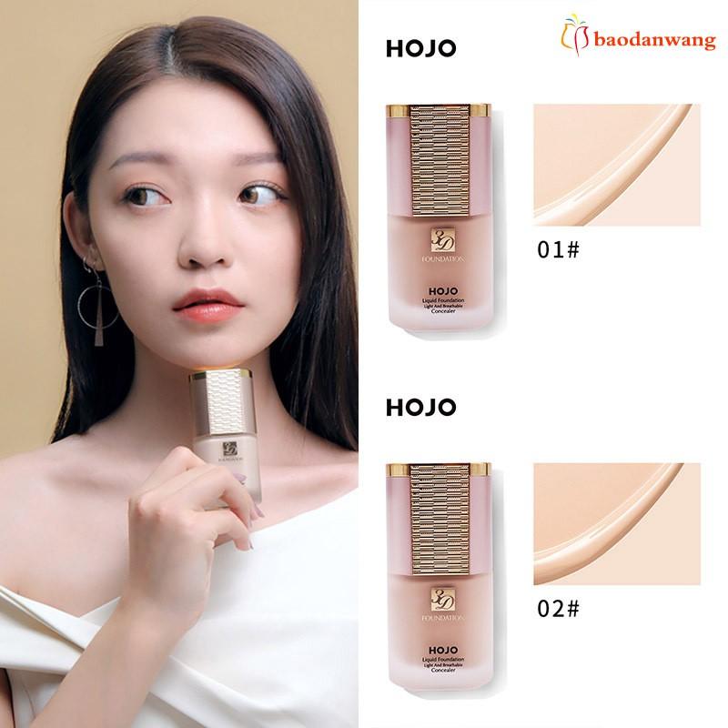 Liquid Foundation Concealer Moisturizing Brighten Skin Long Lasting Makeup for Women