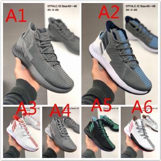 (Giới hạn) Giày bóng rổ nam Adidas D Rose 9 Giày thể thao Kích thước: 40-45
