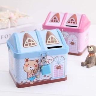 Két sắt mini ngôi nhà