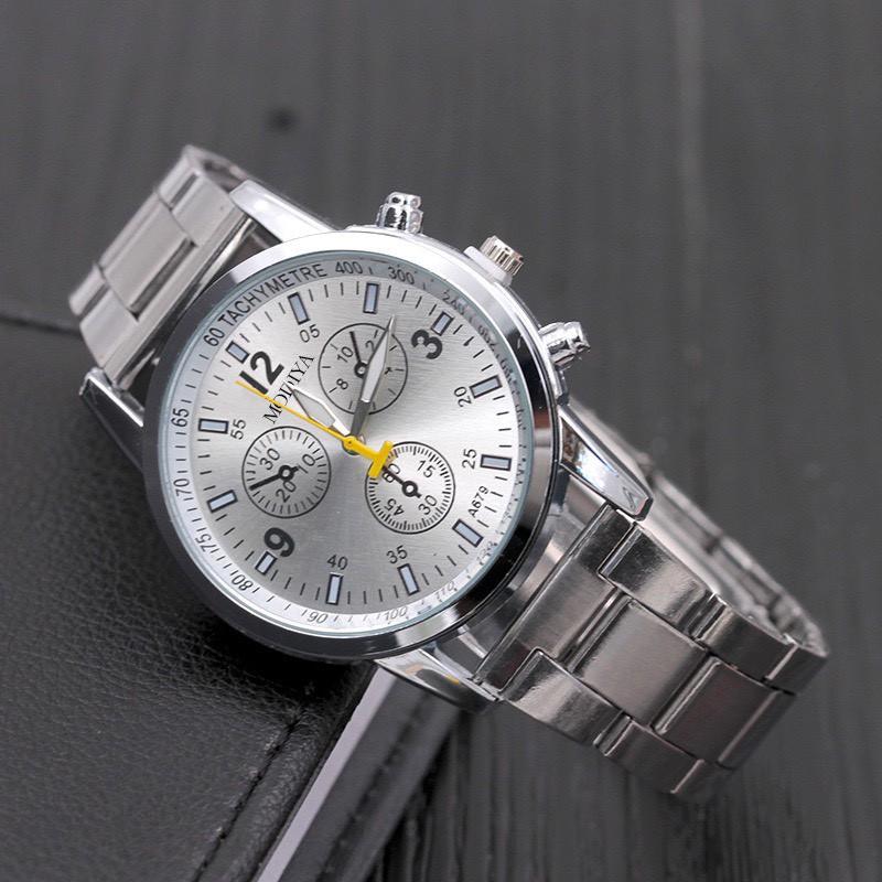 Đồng hồ cơ nam đeo tay cao cấp dây kim loại Modiya siêu hot DH103
