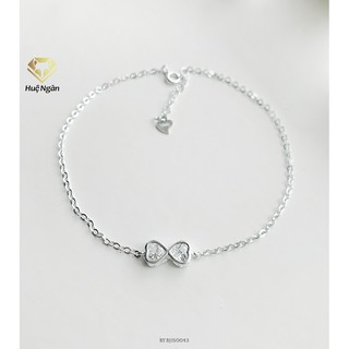 Lắc chân bạc Ý 925 Huệ Ngân - Vô cực RYBJ50043