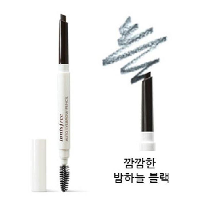 Chì Kẻ Mày 2 Đầu Innisfree Auto Eyebrow Pencil