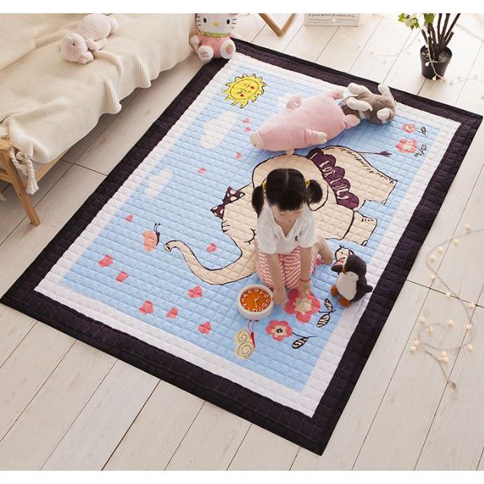 Thảm nằm chơi chần bông cao cấp cho bé - họa tiết Chú voi xanh (Blue Elephant) - 14047859 , 2589903127 , 322_2589903127 , 550000 , Tham-nam-choi-chan-bong-cao-cap-cho-be-hoa-tiet-Chu-voi-xanh-Blue-Elephant-322_2589903127 , shopee.vn , Thảm nằm chơi chần bông cao cấp cho bé - họa tiết Chú voi xanh (Blue Elephant)