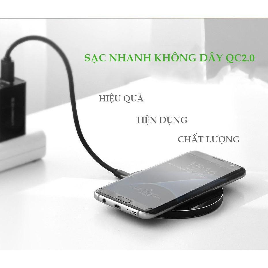 [Mã SKAMPUSHA7 giảm 8% đơn 250k]Sạc không dây tốc độ cao chính hãng Ugreen 30570 cho điện thoại-Hàng Chính Hãng