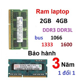 Ram DDR3L 4GB 2Gb laptop ram DDR3 4Gb 2Gb bus 1066 1333 1600 pc3 pc3l 12800s 10600s 8500s