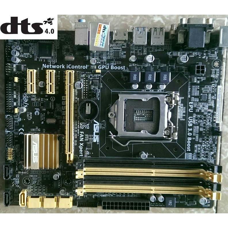 Bo mạch chủ máy tính bàn (main) ASUS H81, B85  Socket 1150 ( Kèm theo yêu cầu Chặn (FE), Keo tản nhiệt, Còi, dây SATA)