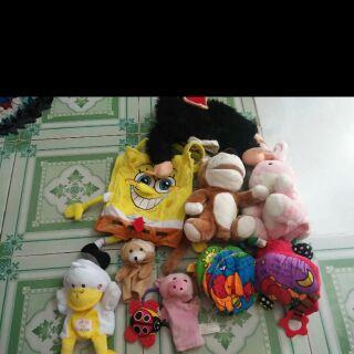 Sét đồ chơi của Quỳnh Trang