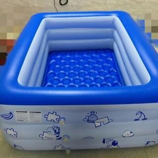 bể bơi 3 tầng 2m1 kèm bơm điện, tặng 5 quả bóng , cá bơi chạy cót, đèn lấy ráy tai
