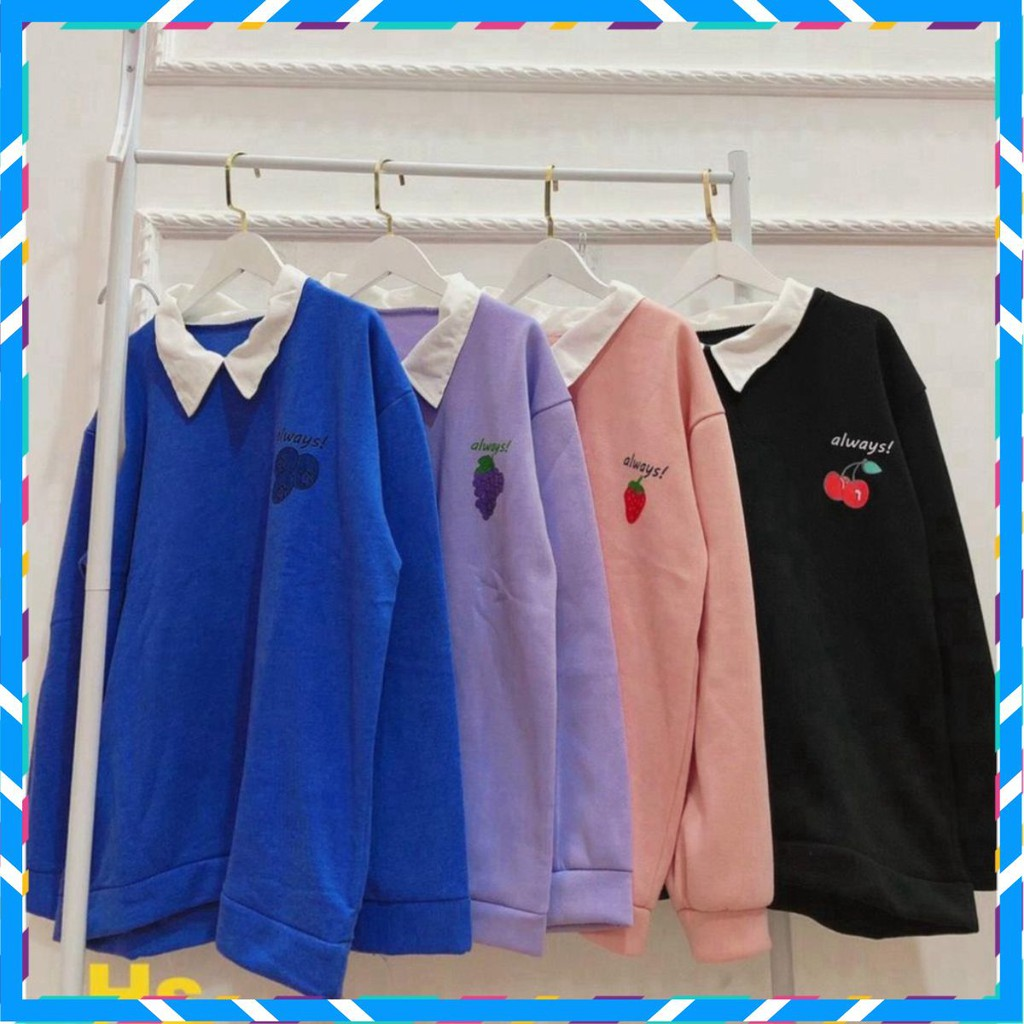 [FREESHIP] Áo khoác len, áo khoác nhẹ in chữ Always unisex, chất nỉ dày dặn trẻ trung dành cho nam nữ