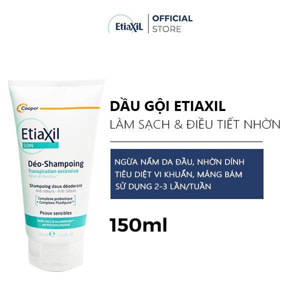 [TẶNG 1 NƯỚC HOA] Combo Dầu Gội 150ml và Lăn Khử Mùi Etiaxil 15ml