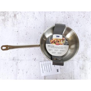 Chảo inox sâu lòng Elo Profi Cuisine 24cm