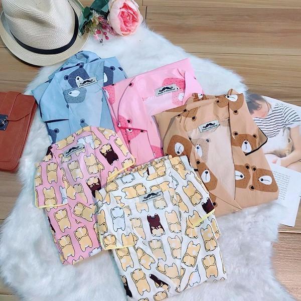 bộ pyjama cộc- BMNG2 Vr
