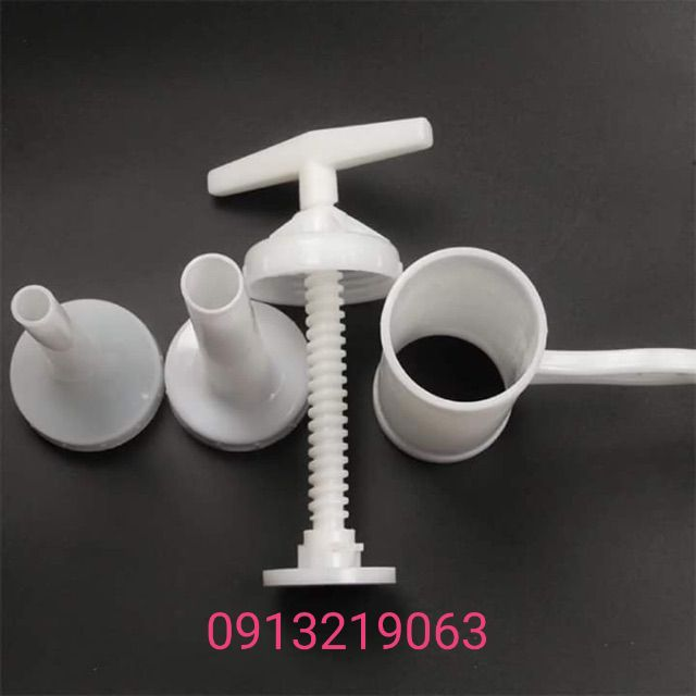 Bộ dụng cụ nhồi xúc xích, lạp xưởng, khoai lang kén +1 vỏ colagen