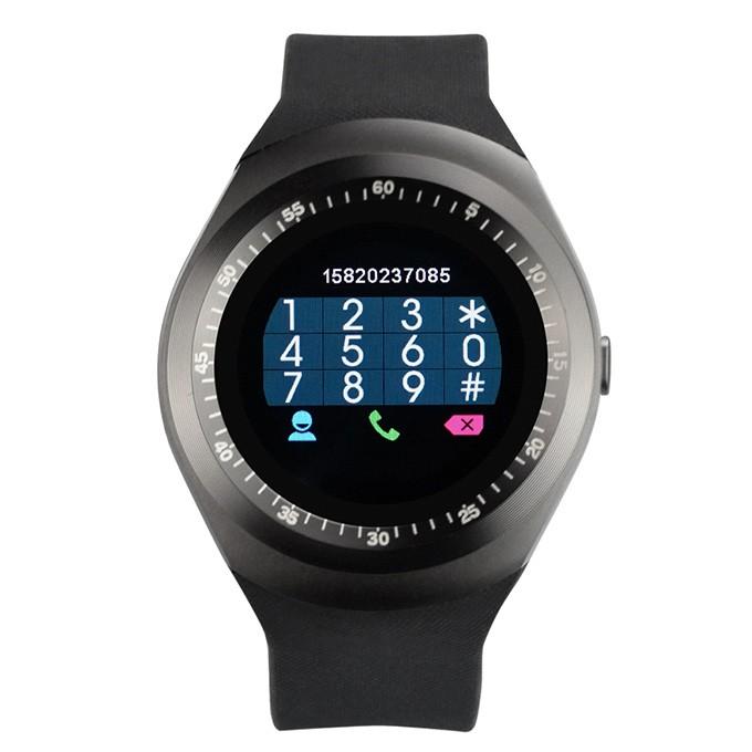 Đồng hồ thông minh Mặt Tròn SmartWatch Y1 Sang Trọng - Lịch Lãm
