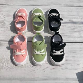 Giày bata thể thao hoa cúc cho bé