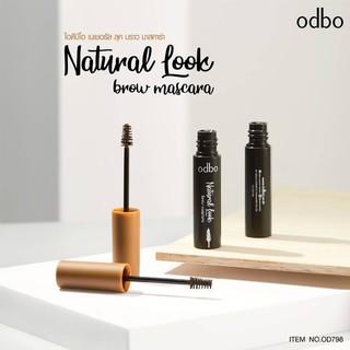 [Auth Thái] Mascara Chân Mày Odbo Natural Look Tông Nâu Tự Nhiên - Mascara Chân Mày Tông Nâu Tự Nhiên OD798 No.02 thumbnail
