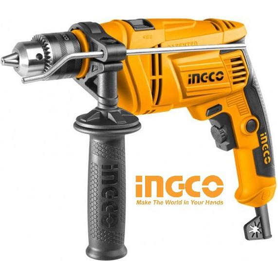 Máy khoan có khoan búa 13mm 650W Impact Drill INGCO ID6538E