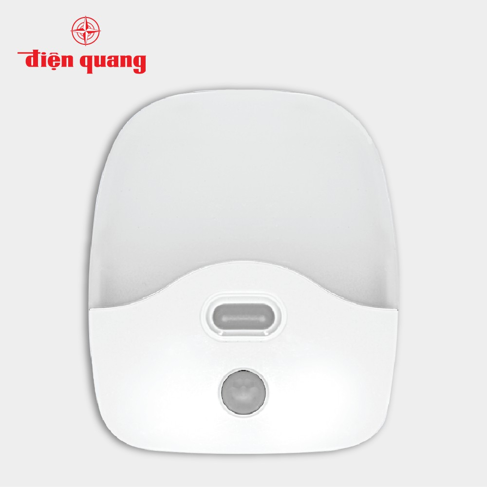 Đèn ngủ LED Điện Quang ĐQ LNL06 WW (cảm biến quang và chuyển động, ánh sáng vàng)