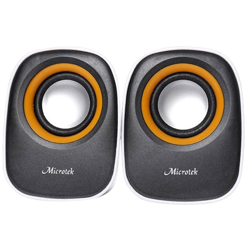 Loa vi tính Microtek MT-126 2.0 - Chính Hãng (bảo hành 12 tháng)