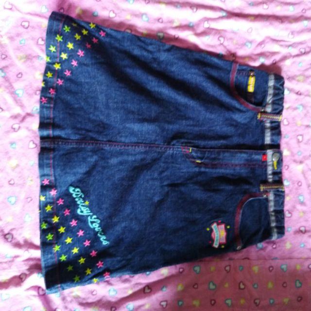 Váy jean trẻ em