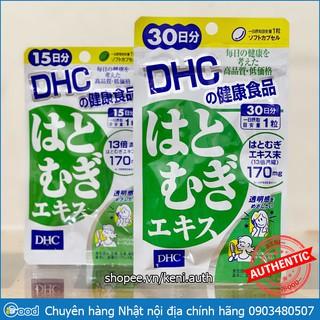 Viên uống trắng da DHC Coix Adlay Extract Nhật Bản0 thumbnail
