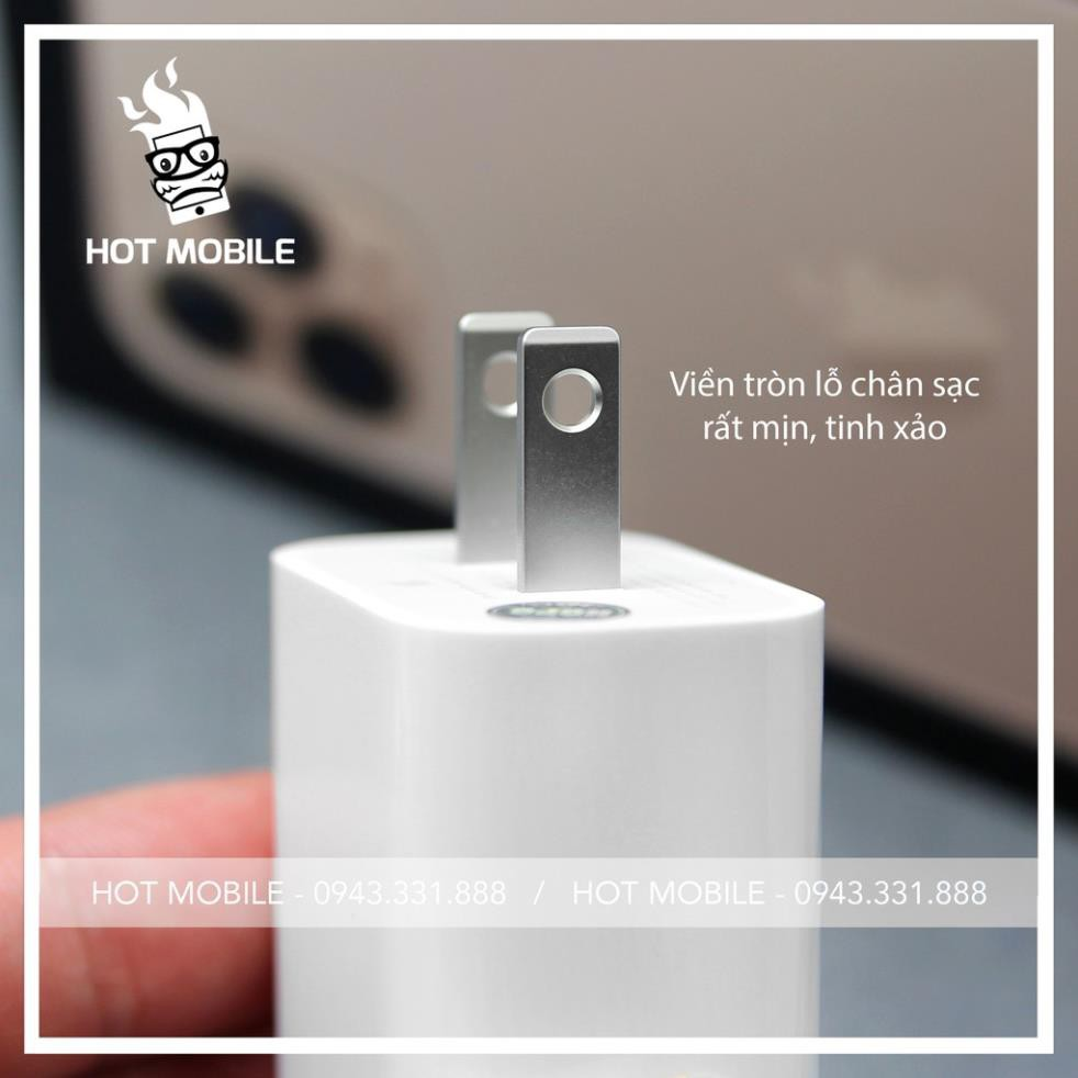 Sạc iPhone 11 Pro Max Củ Chân Dẹt | Sạc Cực Nhanh | BH 12 Tháng