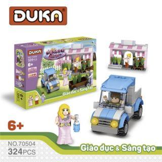 Đồ chơi xếp hình những cô gái hiện đại - Duka ( 324 chi tiết) thumbnail