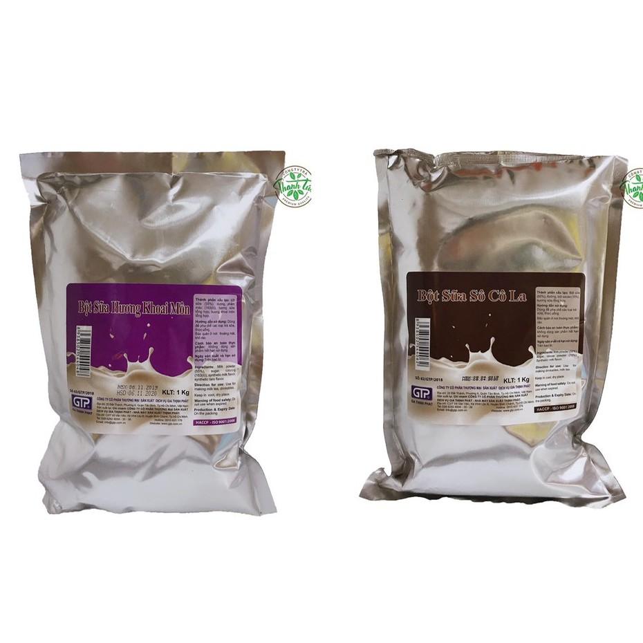 Bột Sữa Gia Thịnh Phát Làm Trà Sữa (Môn, Socola) Gói 1kg
