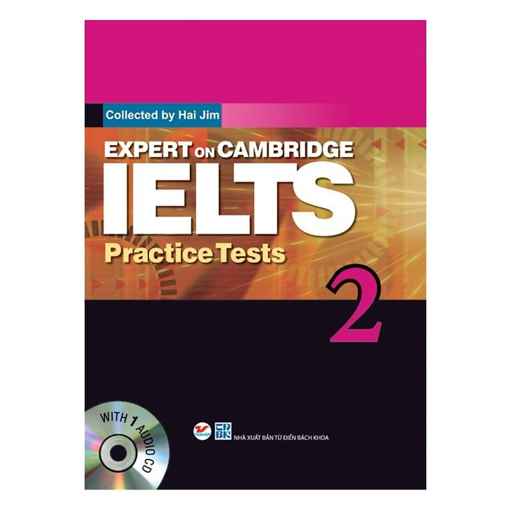 Sách - Expert On Cambridge IELTS Practice Tests 2 (Kèm CD)