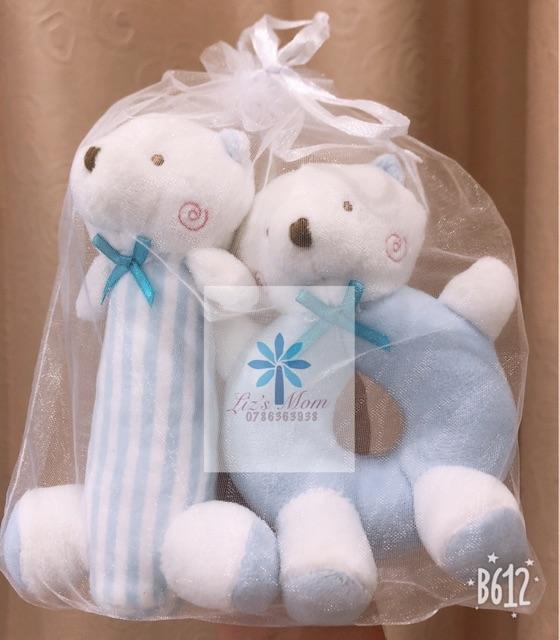 Set 2 thú bông leng keng Goryeo Baby