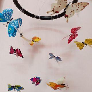 Bộ treo nôi bướm chuyển động montessori