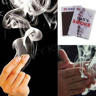 1xclose-up magic change gimmick finger smoke hell's smoke fantasy trick prop