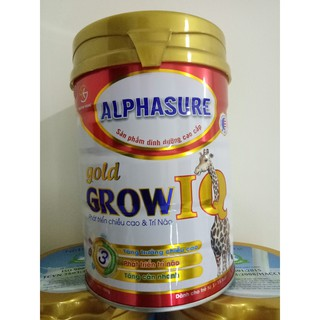 Sữa Grow IQ tăng chiều cao 900gr - trẻ 1-15 tuổi thumbnail