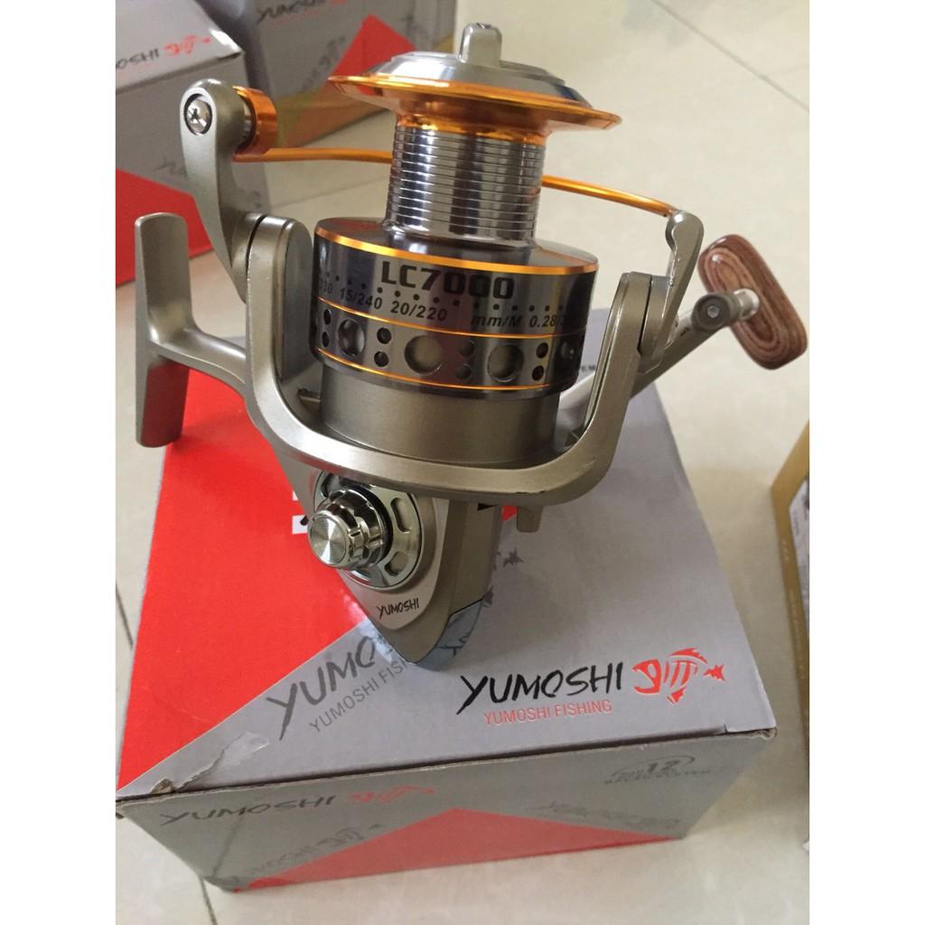 [GIÁ SẬP SÀN] Máy Câu Cá Yumoshi LC 3000-7000 ( Nồi kim loại)