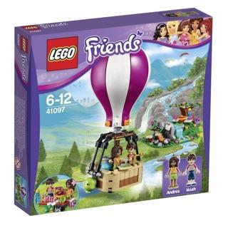 Bộ Xếp Hình Lego Friends Heartlake Hot Air Balloon 41097 (254 Chi Tiết)