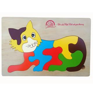 For Kids - đồ chơi tranh ghép 16x24- Mèo