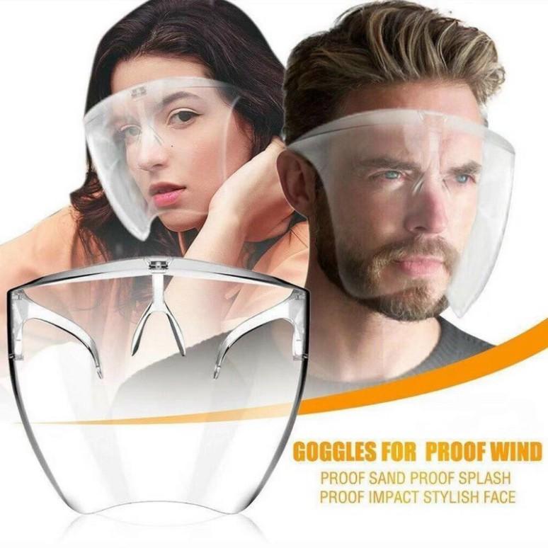 Mắt kính bảo hộ FACE SHIELD là mẫu kính với thiết kế ôm hết khuôn mặt