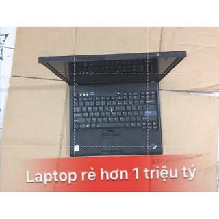 Laptop cũ IBM T60 CO2 2gb ổ 160gb màn 14.1, máy nguyên bản chạy mượt thumbnail