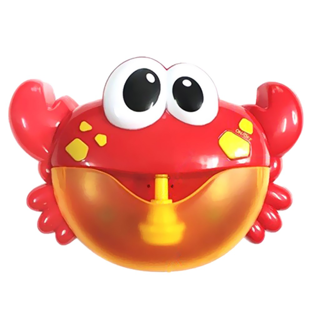 Crab Bubble Maker Machine Musical Bubble Automated Bath Baby Toy