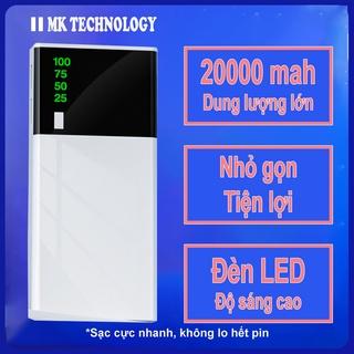 Sạc Dự Phòng 10000mah Pin Dự Phòng Sạc Nhanh Nhỏ Gọn Tiện Lợi Power Bank