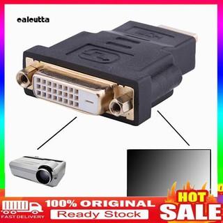 Đầu chuyển đổi HDMI đầu cắm sang DVI-D lỗ cắm 24+1 DVI tiện lợi